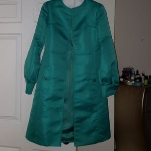 Just Cavalli long Jacket Emerald Green Size 42